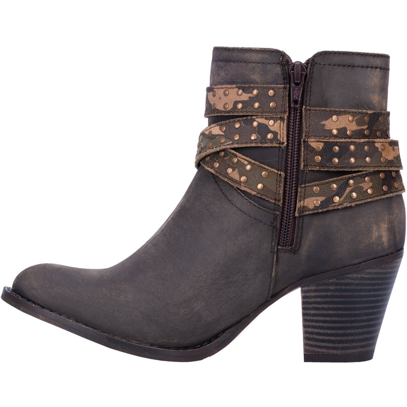 Savannah Leather Bootie-Honeyed Boutique