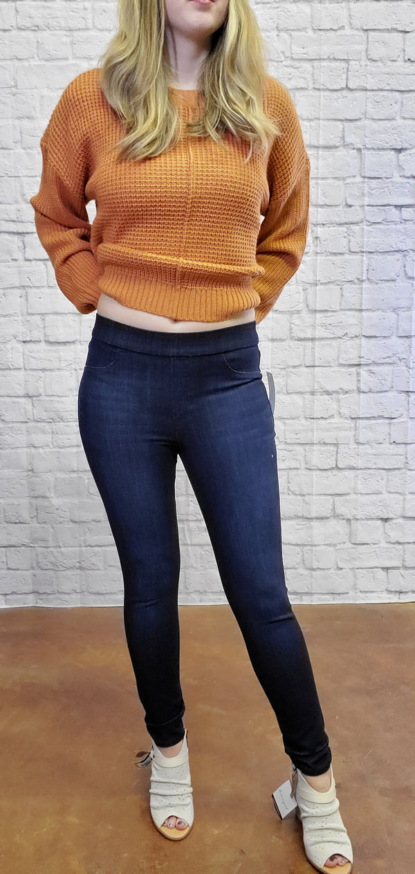 Pull Up Jeggings-Honeyed Boutique