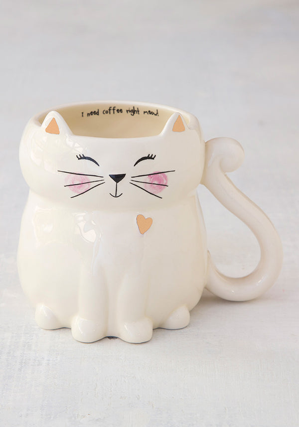 I need Coffee Right Meow Mug