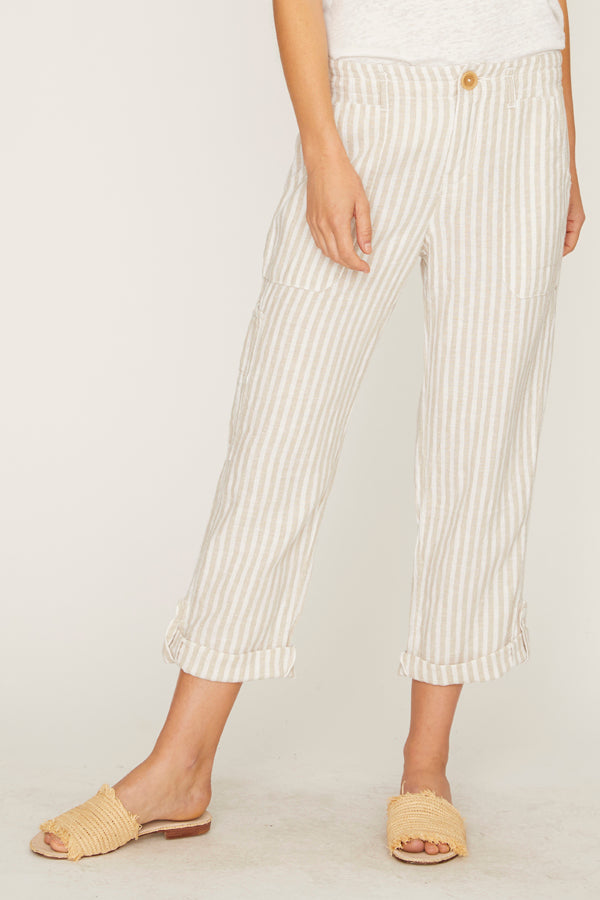 Explorer Patch Pocket Crop Pant