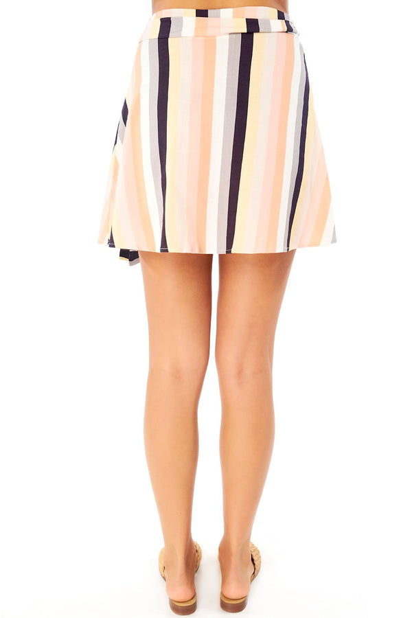 Resort Wrap Mini Skirt-Honeyed Boutique