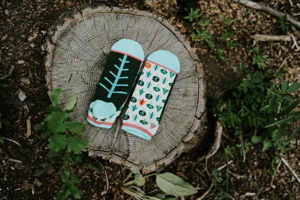 Little Trees Shorty Socks