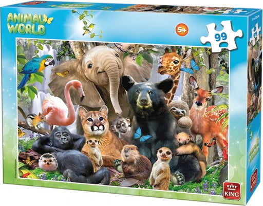 JUNGLE PARTY PUZZLE.