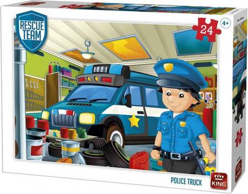 Police Truck PUZZLE.
