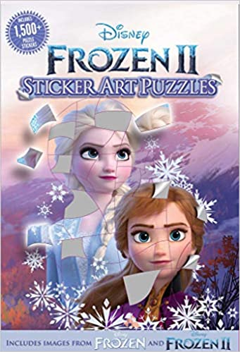 Disney Frozen 2 Sticker Art Puzzles.