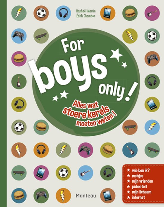 For boys only!.