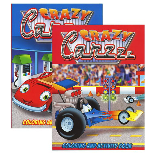 CARZZZ Coloring & Activity Books