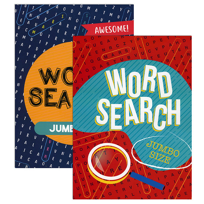 Jumbo Print Find A Word Puzzle