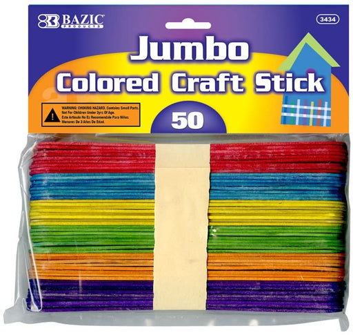 Colored Craft Stick