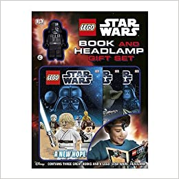 LEGO Star Wars Book and Headlamp Gift Set with 3 Books