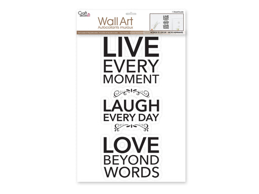 Words To Live By..Wall Art