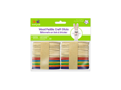 Craft Paddle Sticks