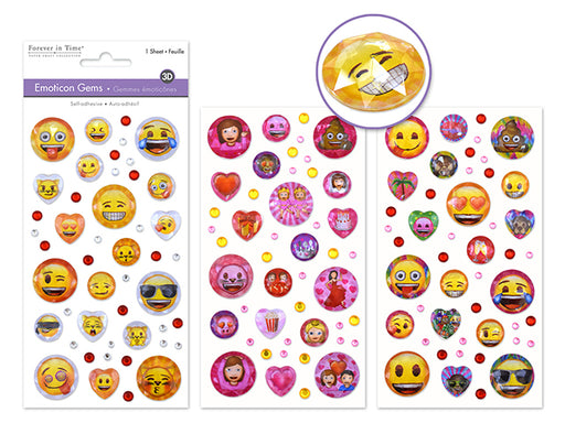 Emoticon Bling Gems