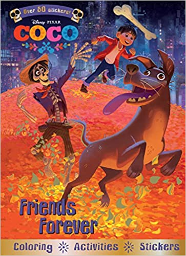 Friends Forever Coloring and Activity Book