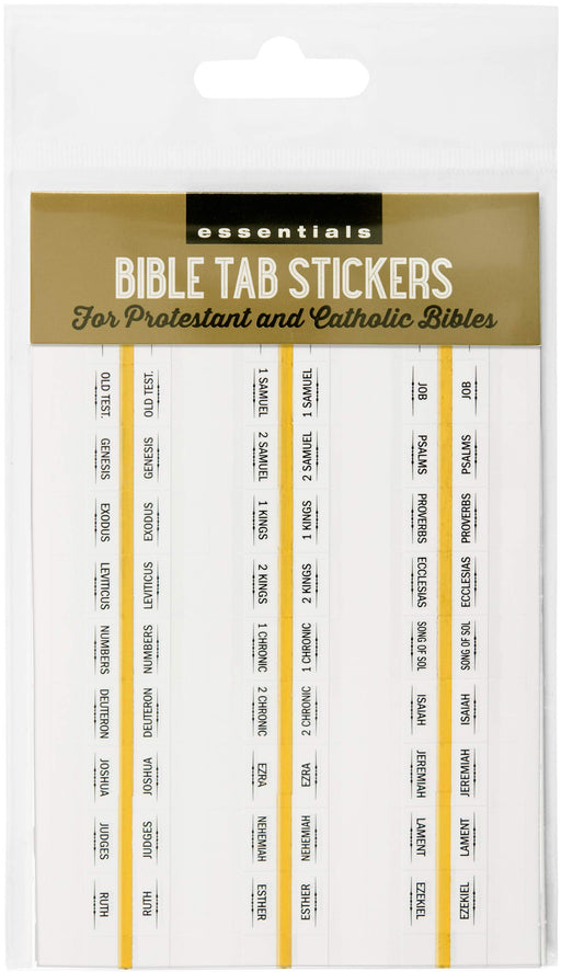 Bible Tabs Stickers