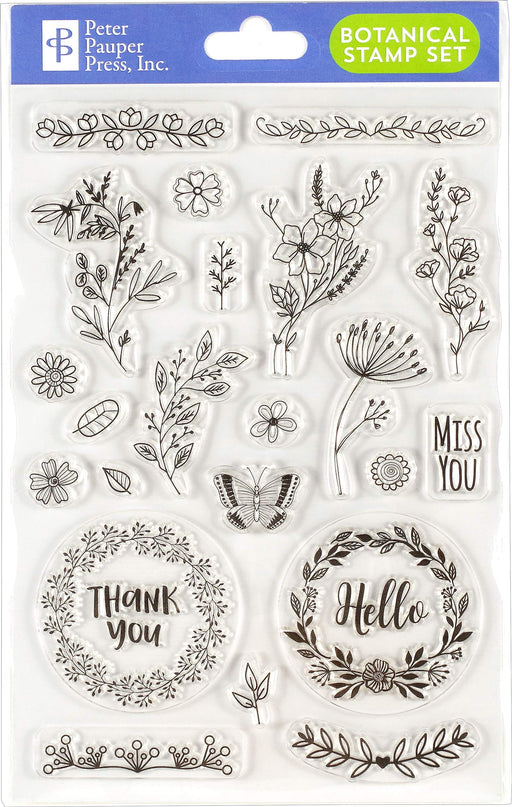 Botanicals Clear Stamp Set