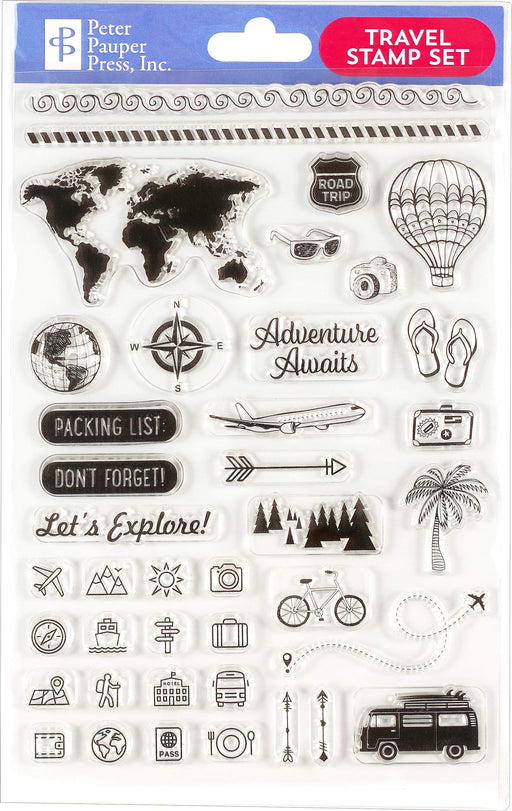 Travel Clear Stamp Set