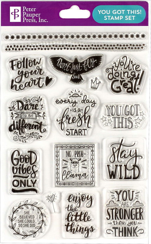 You Got This Clear Stamp Set