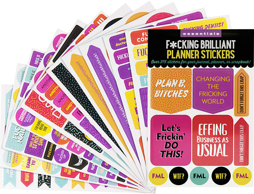 Planner Stickers F*Cking Brilliant