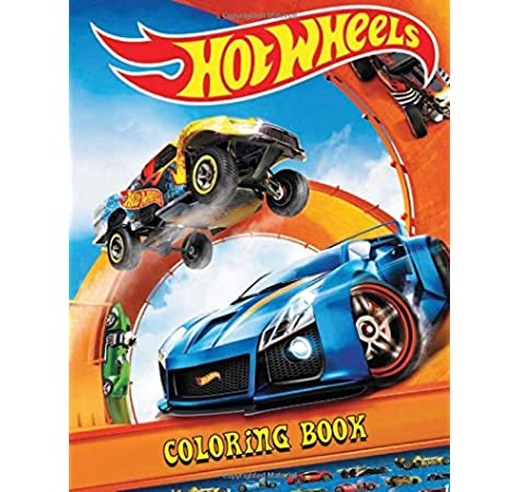 Hot Wheel 50th. Anniversary  Coloring Book