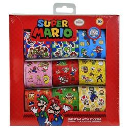 Mario 9 Roll Sticker Box
