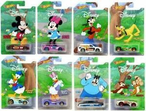 Hot Wheels Mickey & Minnie Cars