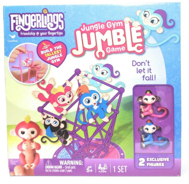 Fingerlings Tumble in the Jungle with 2 figures