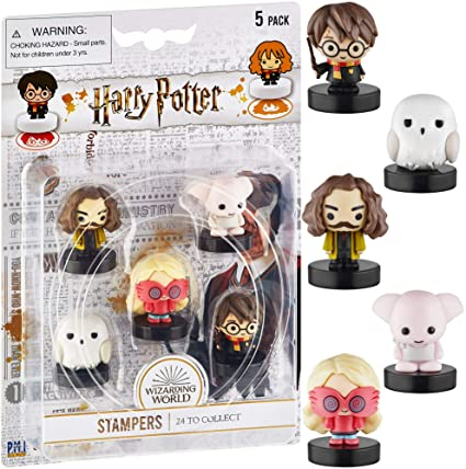 Harry Potter Stampers in blister pack