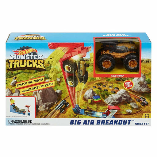 Blitz Hot Wheels Monster Truck Big Air Breakout Playset