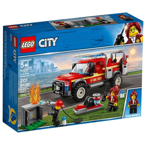 Fire Chef Response Truck Lego