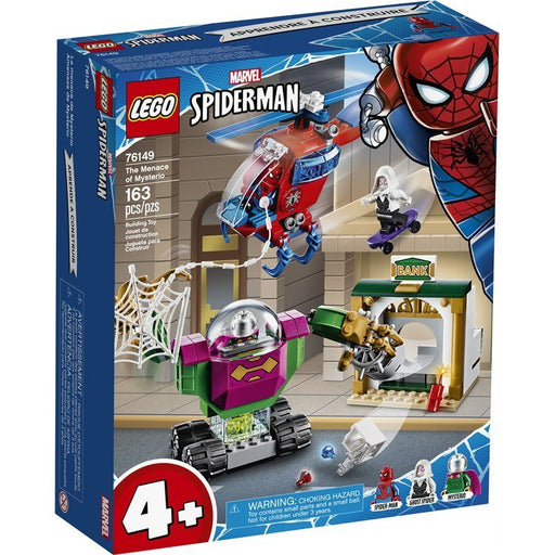 Spider-Man Menace of Mysterio Lego