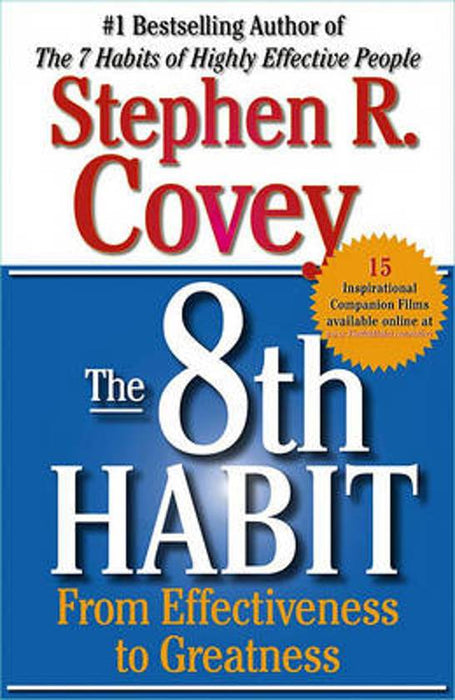 8TH  Habit From Effectiveness to Greatness