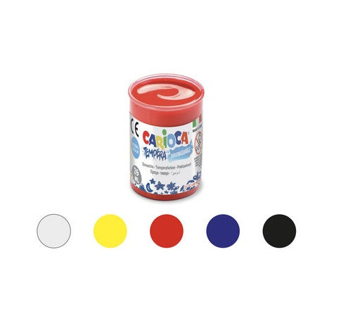 Tempera Paint Pots