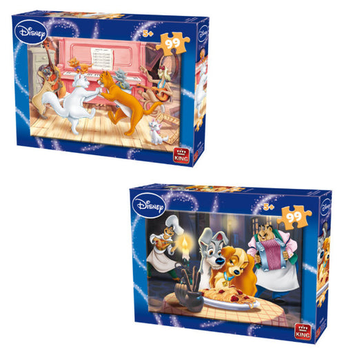 ARISTOCATS & LADY AND THE TRAMP PUZZLE.