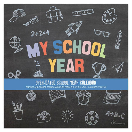 My School Year Wall  Calendar