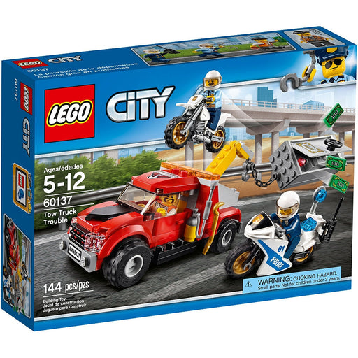 TOW TRUCK TROUBLE LEGO.