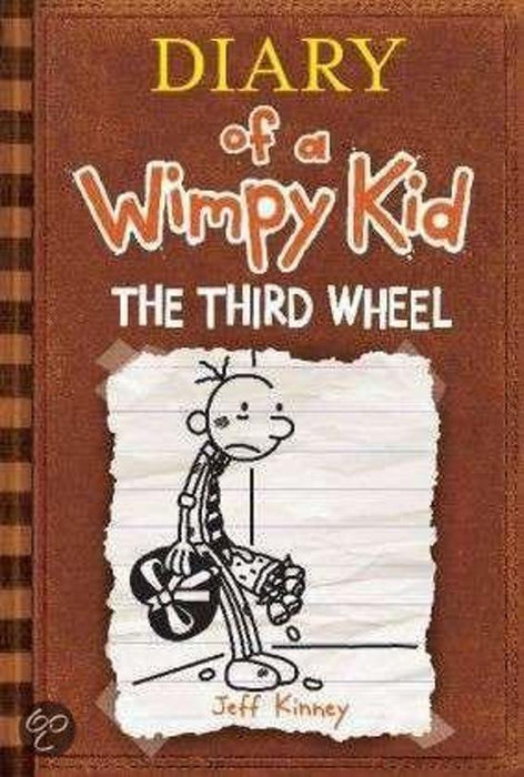 DIARY OF A WIMPY THE THIRD WHEEL