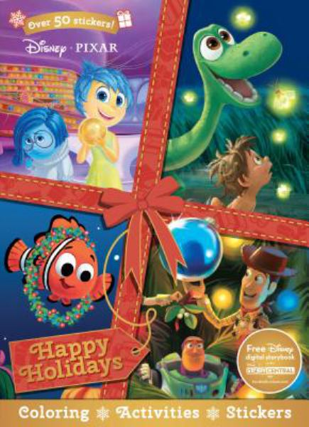 Happy Holidays Coloring & Activity Book