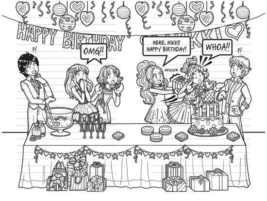 DORK DIARIES: Tales from a Not-So-Happy Birthday