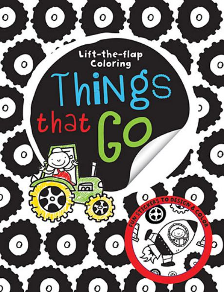 Things That Go (Lift-the-Flap Coloring)