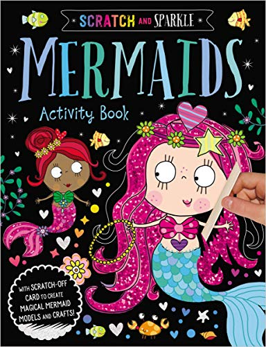 Mermaids Activity Book (Scratch