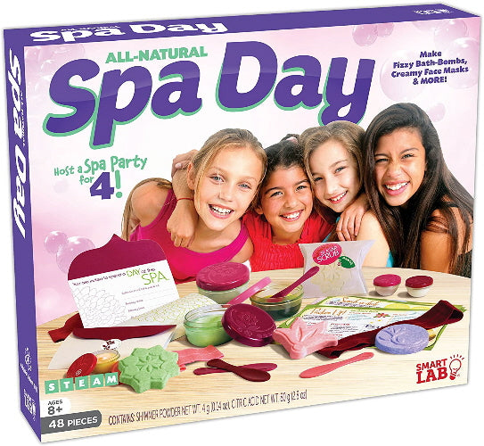 All-Natural Spa Day (STEAM - Smart Lab)