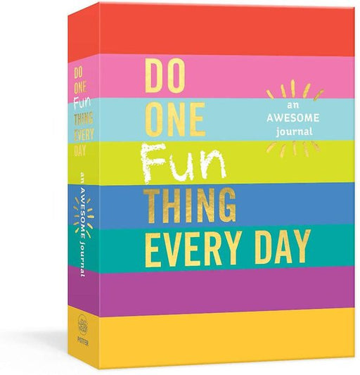 Do One Fun Thing Every Day An Awesome Journal