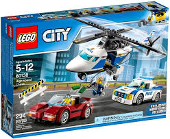 HIGH-SPEED CHASE LEGO.