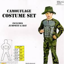ARMY CAMOUFLAGE COSTUME