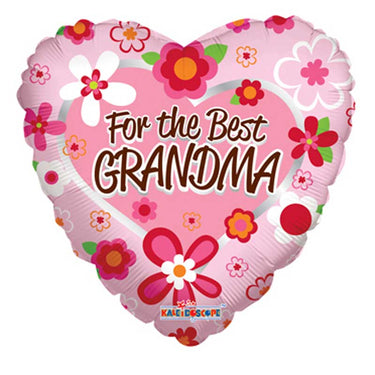 THE BEST GRANDMA BALLOON