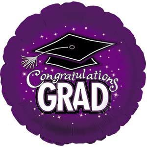 CONGRATULATION GRAD BALLOON