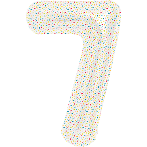 NUMBER BALLOON