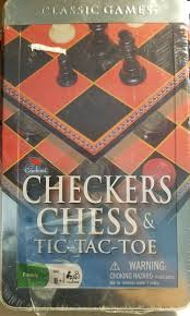 CHESS,CHECKERS, TIC TAC TOE BOX