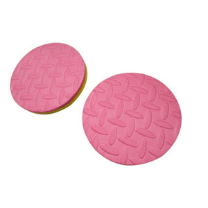 Pack of 2 Plank Workout Knee Pad Cushion Round Foam Yoga Eliminate Knee Wrist Elbow Pain Exercise Mats